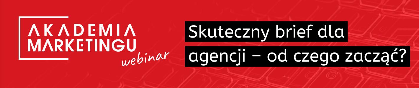baner-akademia-marketingu-skuteczny-brief-dla-agencji-od-czego-zaczac-na-czerwonym-tle